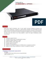DMB-2048A ISDB-Tb Modulator