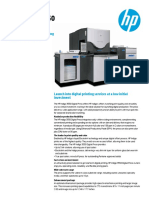 HP Indigo 3550 Digital Press