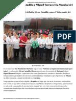 27-09-2019 Celebran Héctor Astudillo y Miguel Torruco Día Mundial del Turismo.