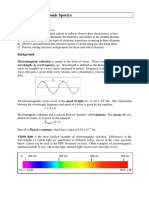Flame Tests and Atomic Spectra
