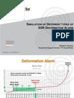 Simulation of Different types of SSR Deformation Alarm.pptx