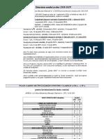 Planul Cadru,Schema Orara, Competențe,Continuturi