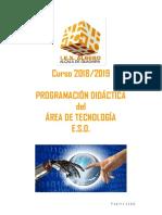 IES ALBERO Programación 2018-2019 tecnologia º ESO rev. 6