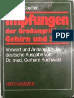 Impfungen, Großangriff Auf Gehirn & Seele- Harris Coulter (Inhaltsverzeichnis)