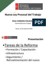 Nueva ley procesal Tacna