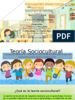 Teoría Sociocultural