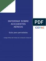Informar Sobre Accidentes Aereos Guia Para Periodistas