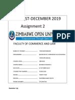 Finance 1 Assignment 2