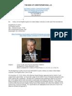 Montgomery MD Judge Rand L. Gelber Violates VA Whistleblowers on ADA Advocacy & First Amendment.