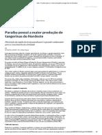 ASN - Paraíba possui a maior produção de tangerinas do Nordeste.pdf