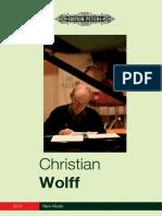 Christian Wolff - Work List