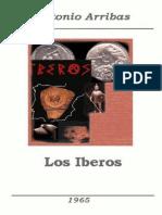 Los iberos - Antonio Arribas
