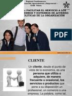 PRESENTACION - SERVICIO AL CLIENTE -