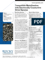 Tech Tip 12 - Compatible Metallization