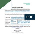 CONVOCATORIA CFE-0112-CACON-0099-2019