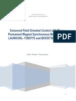 Sensored FOC of PMSM_XL_BP