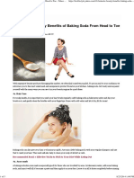 10 Fantastic Beauty Benefits of Baking Soda From Head to Toe - Yahoo Lifestyle India