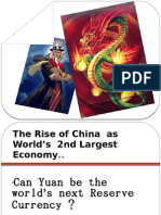 Can Yuan be the world's next Reserve Currency