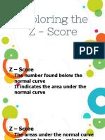 Understanding the Z - score