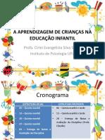 A aprendizagem de crianças na educação infantil