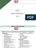 Manvin Consulting Inc.2020