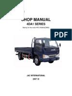 MANUAL DE REPARACION MOTOR JAC 4DA1 PARTE 1