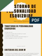 Clase 2 trastorno de personalidad esquizoide