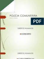 Aula  - POLÍCIA COMUNITÁRIA 2019