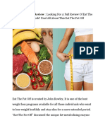 Eat the Fat Off Diet Plan Review