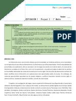 Guía project 1ero medio_Project 3_Guía 2_Guia de Indagación 1