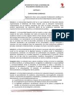 Anteproyecto Reglamento General UDS