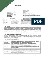 SILABUS 2019-2 de Farmacologia General y Especial