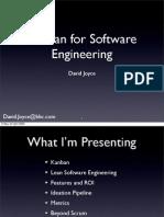 Kanban for Software Engineering Apr 242