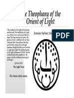 The Theophany of the Orient of Light