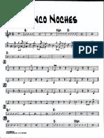 CINCO NOCHES - PIANO
