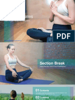 Practicing Yoga Lesson PowerPoint Templates.pptx
