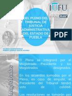 PLENO DEL TRIBUNAL DE JUSTICIA ADMINISTRATIVA