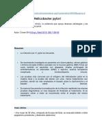 articulo 1  helicobacter pylori
