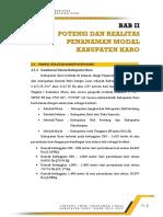 003 - BAB II POTENSI DAN REALITAS PENANAMAN MODAL KABUPATEN KARO