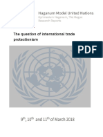 The-question-of-international-trade-protectionism