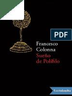 Sueno de Polifilo - Francesco Colonna