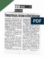 Abante, Jan. 9, 2020, Transportasyon, turismo sa Bicol bobongga.pdf