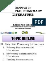 MODULE 3-Essential Pharmacy Literature