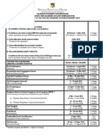 Kalendar Akademik Pascasiswazah Sem 2 20182019