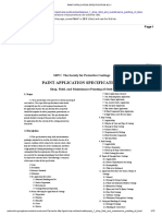 Paint Application Specification No.1