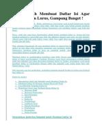 Cara Mudah Membuat Daftar Isi Agar Otomatis dan Lurus.docx