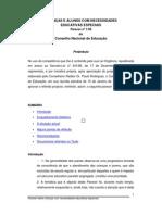Conselho Nacional de Educacao - Parecer 1-99
