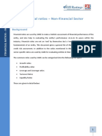 FinancialratiosNonFinancialSector