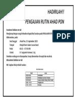AHAD PON