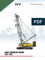 crawler-crane-scc1800 sany